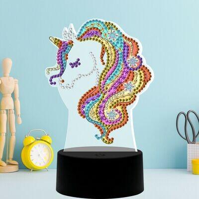 DIY Diamond Painting Nite Lite - Unicorn