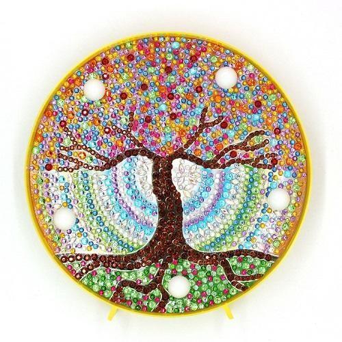 DIY Diamond Painting Nite Lite - Tree