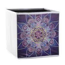 DIY Storage Cube - Flower Pattern