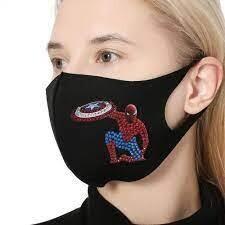 Face Mask - Hero - DIY Diamond Painting