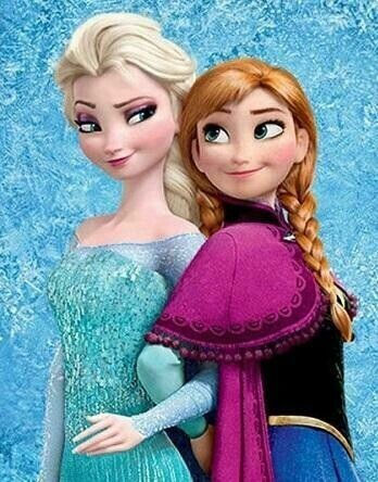 Frozen Princesses - 30 x 40cm Full Drill (Square) Diamond Painting Kit - Currently in stock