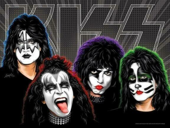 Kiss - 40 x 50cm Full Drill (Round), Diamond Painting Kit - Currently in stock