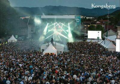 A6 Postkort - Kongsberg Jazzfestival