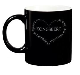 Krus - Kongsberg hjerte