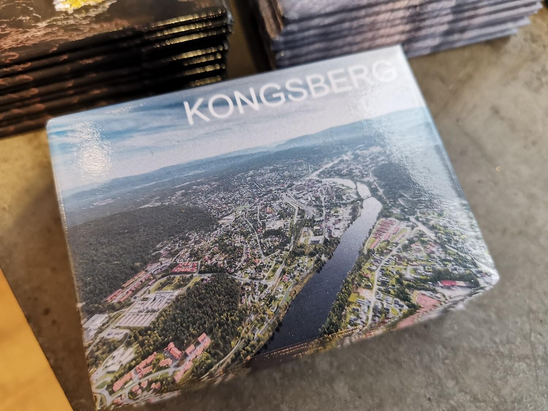 Magnet Kongsberg by fra luften