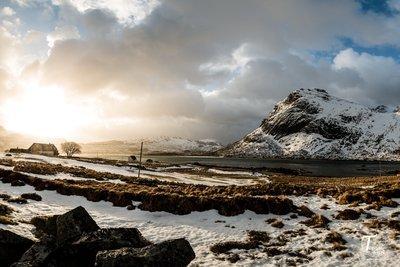 Gårdsliv i Lofoten