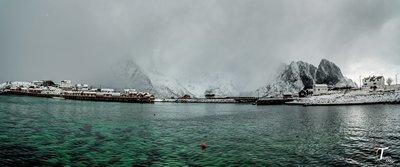 Tåke i Lofoten
