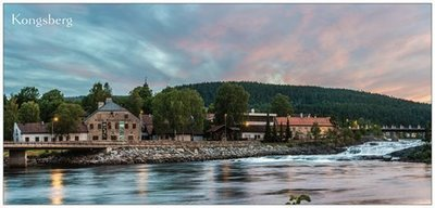 Panorama Postkort - Bergverkmuseet