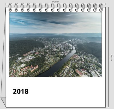 Bord kalender - Kongsberg