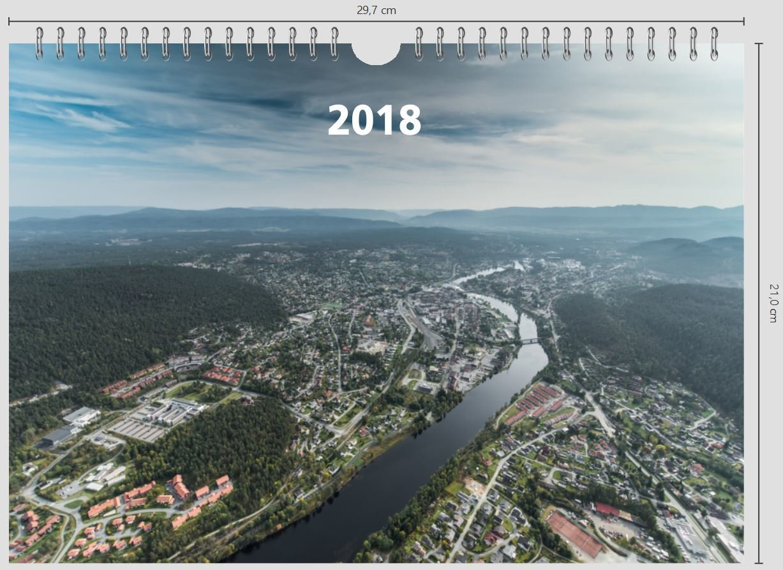 Vegg kalender - Kongsberg