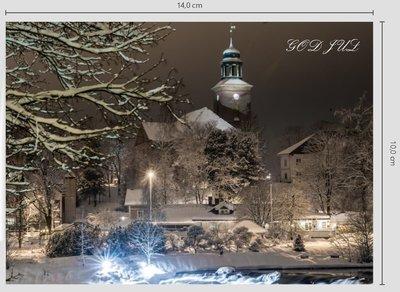 A6 Foldekort Klassisk - Kongsberg kirke