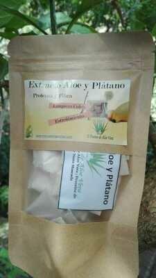 Extracto de Plátano con Aloe (Limpieza de colon y estreñimiento) ( 30 unidades)