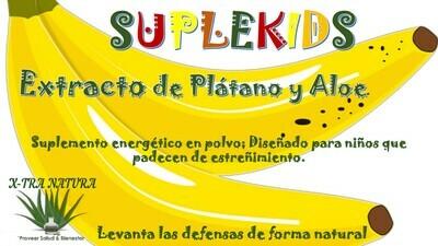 SUPLEKIDS (Extracto de Plátano con Aloe)