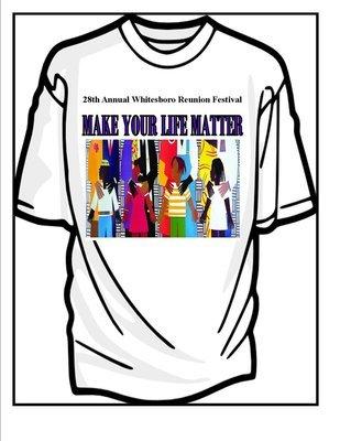 28th Annual Whitesboro Reunion T Shirt