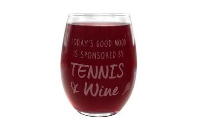 Custom Saying Stemless Wine Glass