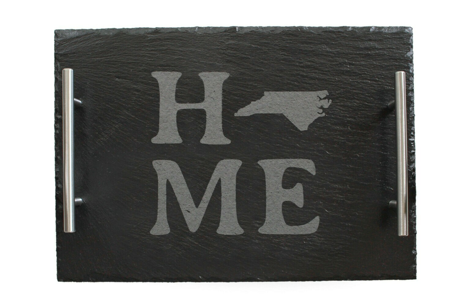 Home Customized w/State Image Slate Serving Tray