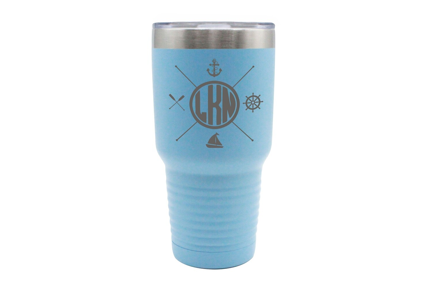 Custom Location with Nautical Themes Insulated Tumbler 30 oz