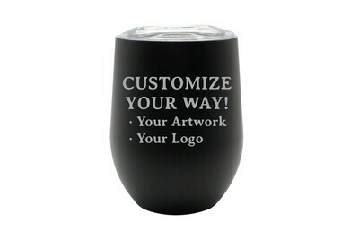 Customize Your Way -12 oz Insulated Tumbler