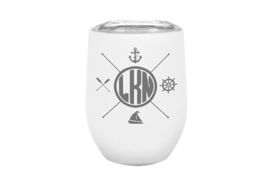 Custom Location with Nautical Themes Insulated Tumbler