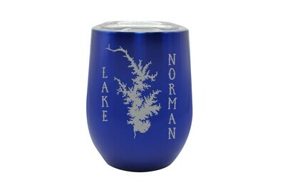 Body of Water & Customized Vertical Location Insulated Tumbler 12 oz