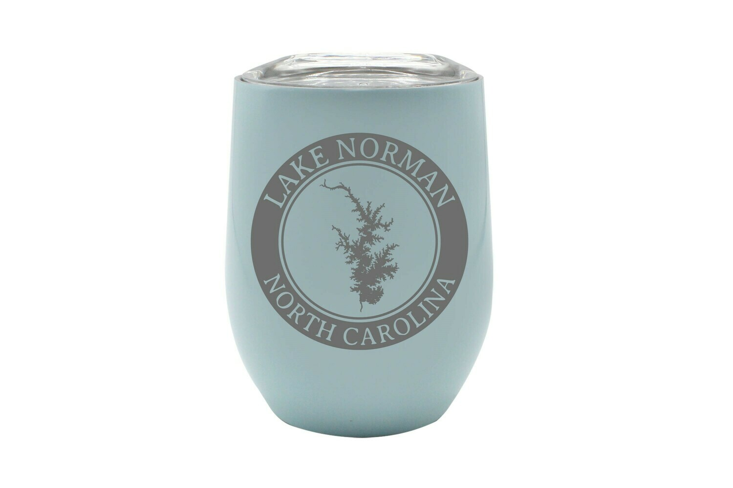 Body of Water w/Circle & Customized Location Insulated Tumbler