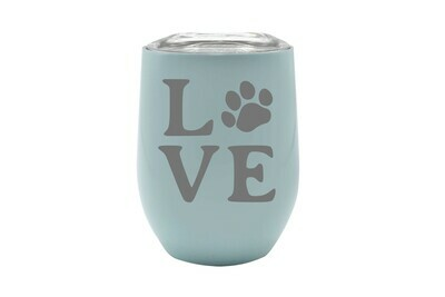 Love Customized with Dog or Cat Print Insulated Tumbler