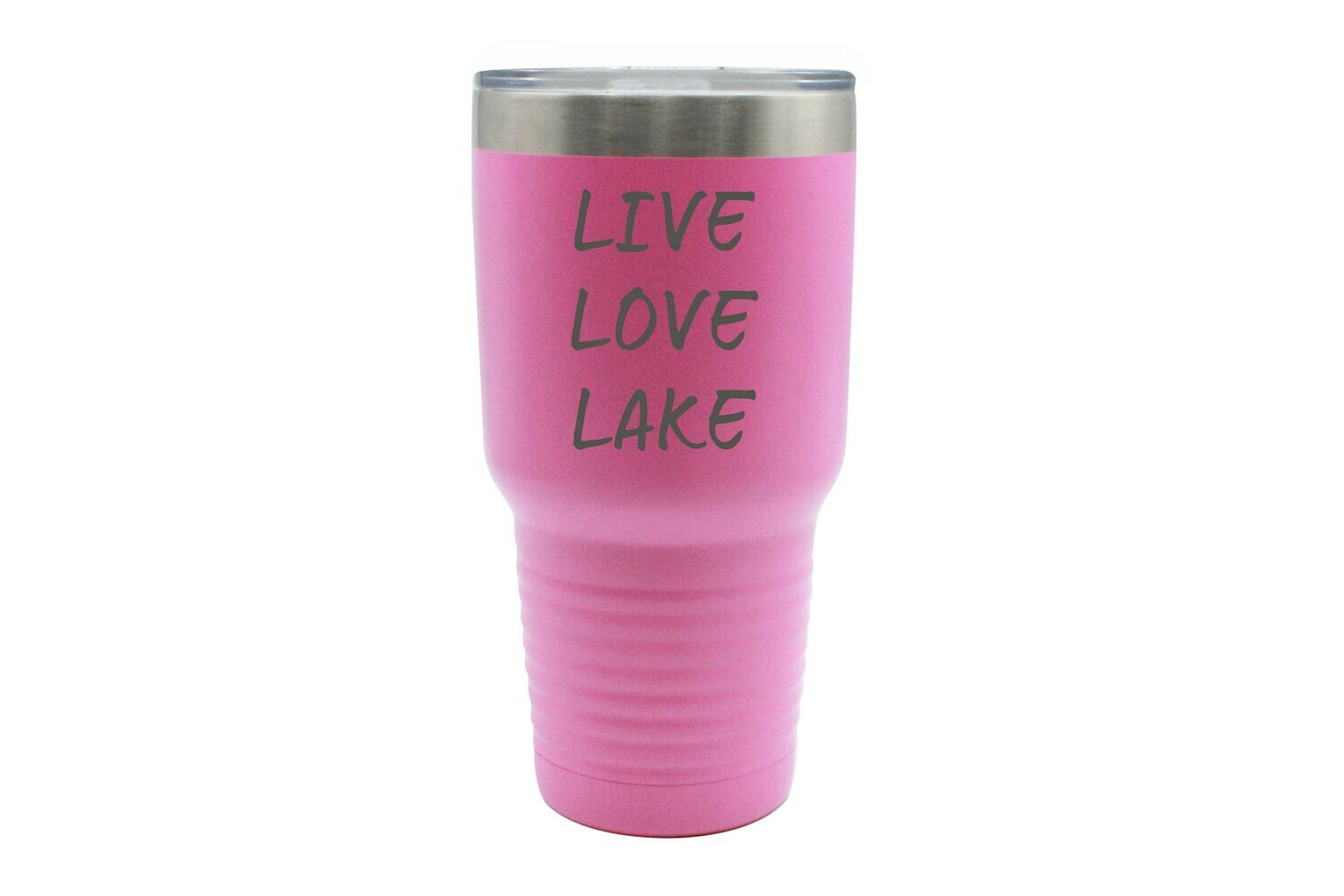Live Love Lake or Your Custom Words Insulated Tumbler 30 oz