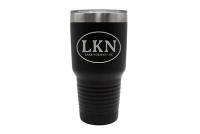 Custom Insulated Tumbler with Initials or Airport Code 30 oz