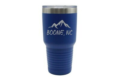Mountains Customized with City & State Insulated Tumbler 30 oz