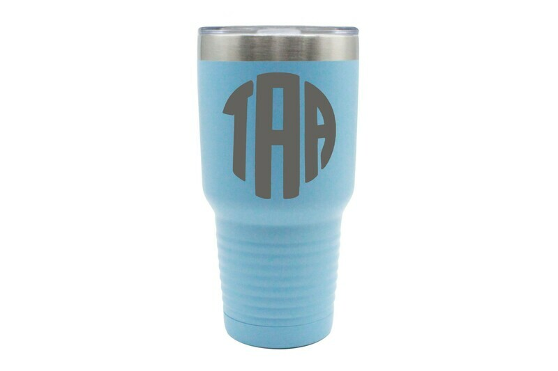 Monogrammed Insulated Tumbler 30 0z