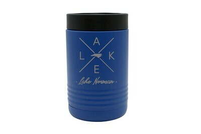 Customized State Shape with LAKE Insulated Beverage Holder