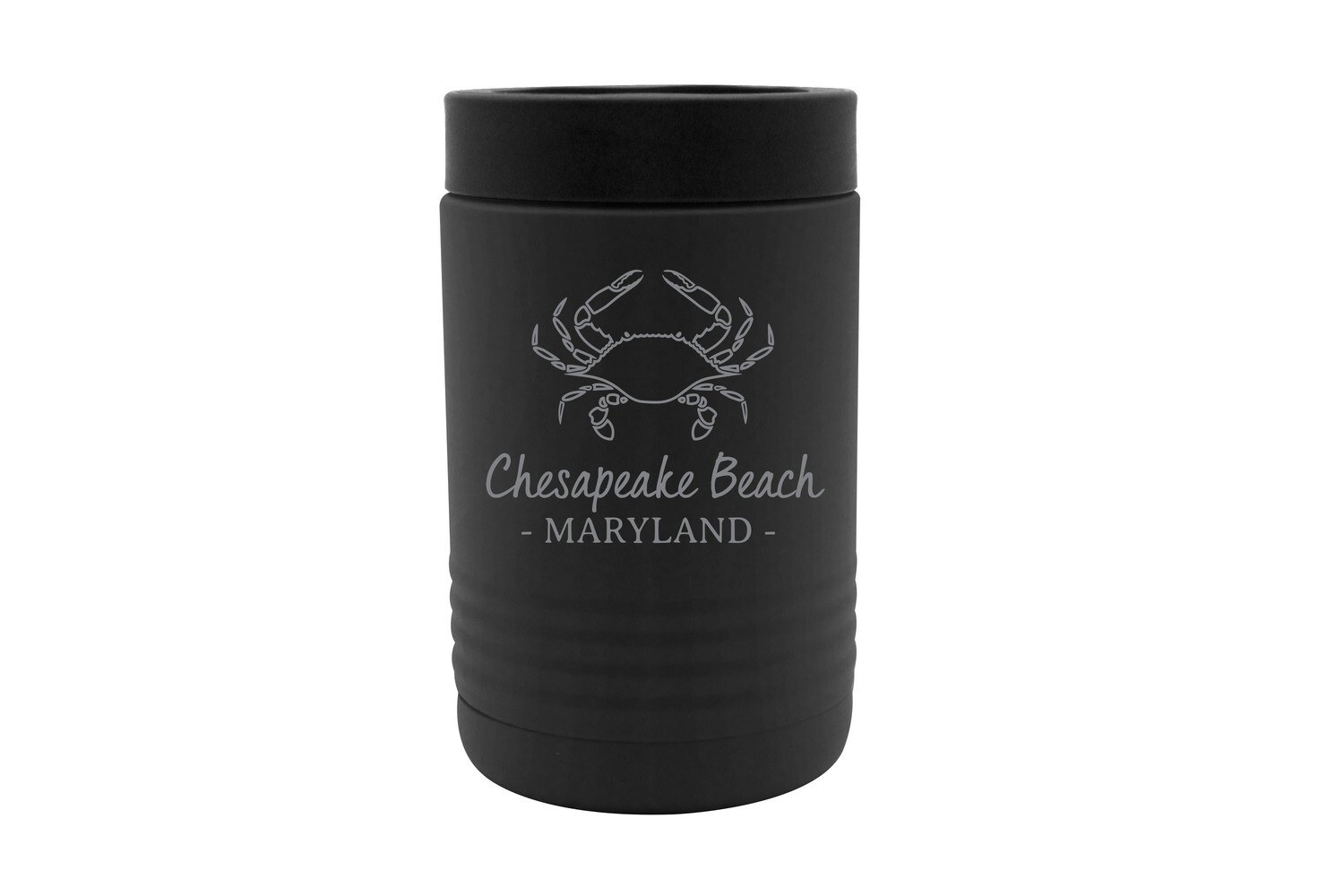 Crab Outline & Customized Location Insulated Beverage Holder