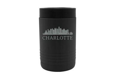 Custom City Skyline Insulated Beverage Holder