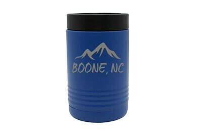 Mountains Customized with City & State Insulated Beverage Holder
