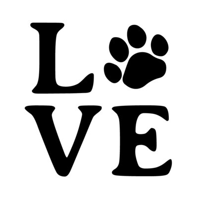 Love Customized with Dog or Cat Print Pilsner Beer Glass 16 oz