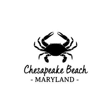 Crab & Customized Location PLASTIC Stemless Wine Glass