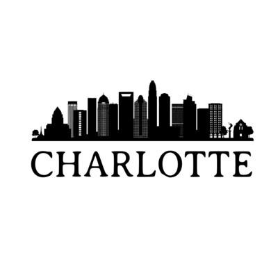 City Skyline Slate Serving Tray