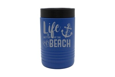 Life is Better at the Beach/Lake Insulated Beverage Holder