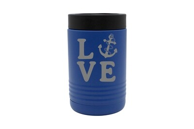 Love with Anchor Insulated Beverage Holder