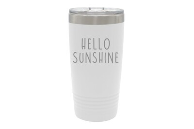 Personalized Insulated Tumbler w/Your Custom Saying 20 oz