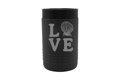 Love with Seashell Insulated Beverage Holder
