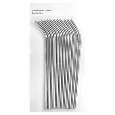 Stainless Steel Straw 12 Pack