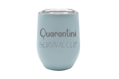Quarantini Survival Cup Insulated Tumbler