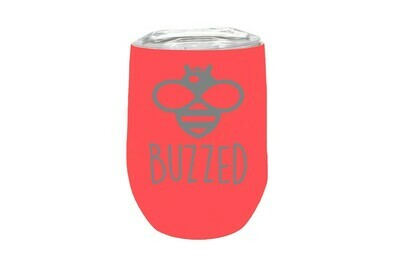 Bee Phrases (Amazing, Buzzed, Happy, Kind, or Your Word)  Insulated Tumbler