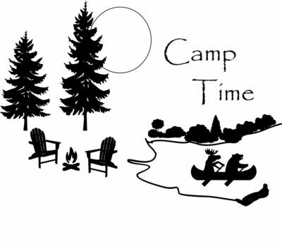 Camp Time or Your Words Insulated Tumbler