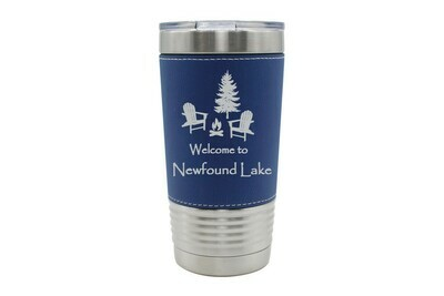 Leatherette 20 oz Welcome to Your Choice Insulated Tumbler