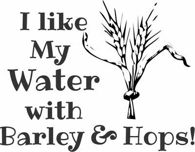 I like my water with Barley & Hops Insulated Tumbler 30 oz