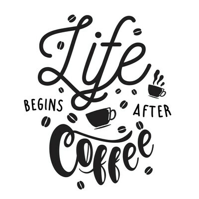Life Begins After Coffee Insulated Tumbler 20 oz