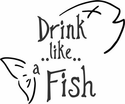 Drink like a Fish Insulated Tumbler 20 oz