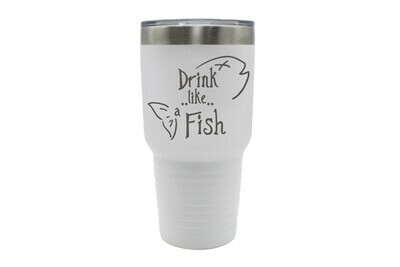 Drink like a Fish Insulated Tumbler 30 oz